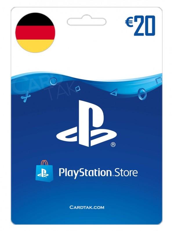 PlayStation 20 EUR Germany