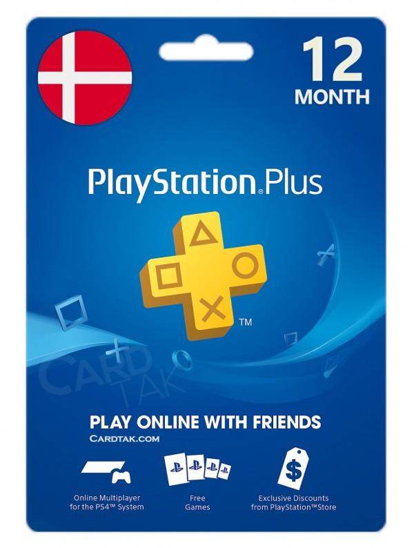 خرید اشتراک 12 ماهه PlayStation Plus دانمارک بهترین قیمت