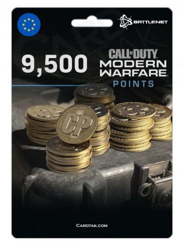 COD MW 9500 Points (Battle.net/EU)