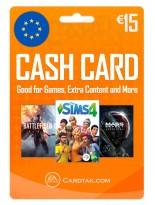 EA Origin Cash Card 15 EUR Europe