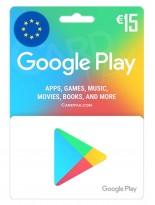 گوگل پلی 15 یورو اروپا (EU)