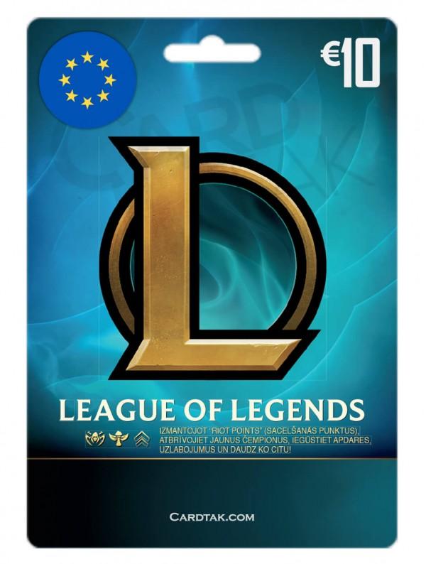 لیگ آف لجند 10 یورو اروپا (EUW/EUNE)