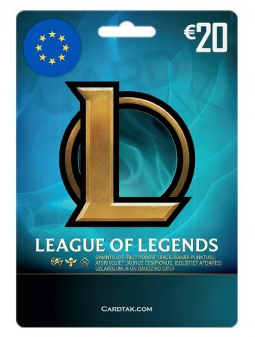لیگ آف لجند 20 یورو اروپا (EUW/EUNE)