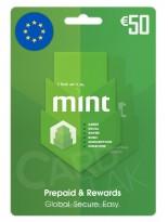 گیفت کارت مینت 50 یورو اروپا (EU)