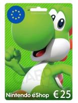 Nintendo 25 EUR Europe