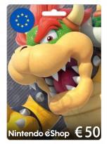 Nintendo 50 EUR Europe