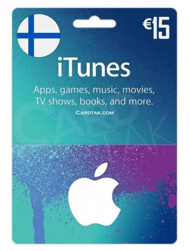 آیتونز 15 یورو فنلاند (FI)