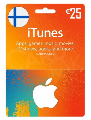 آیتونز 25 یورو فنلاند (FI)