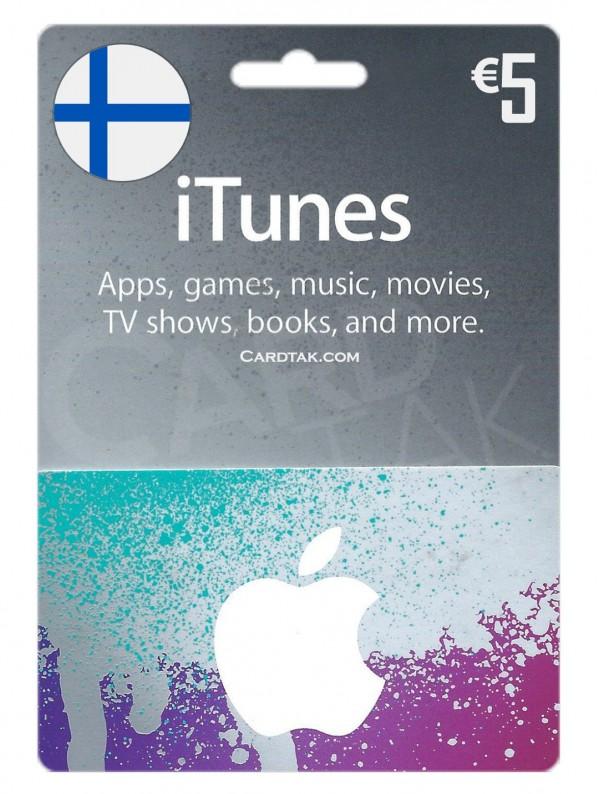 گیفت کارت 5یورو فنلاند (بهترین قیمت)