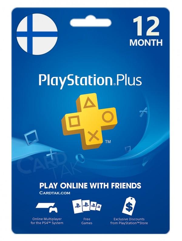 خرید اشتراک 12 ماهه PlayStation Plus فنلاند بهترین قیمت