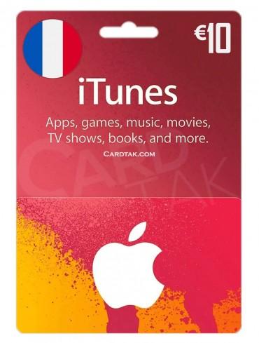 آیتونز 10 یورو فرانسه (FR)