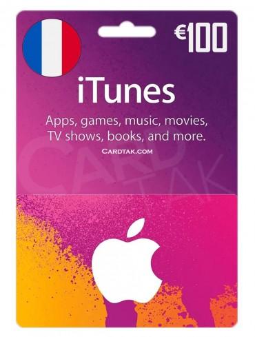 آیتونز 100 یورو فرانسه (FR)