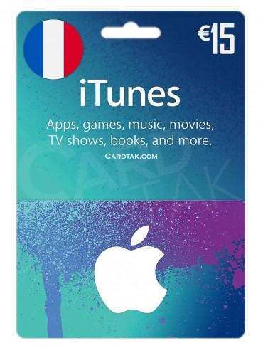 آیتونز 15 یورو فرانسه (FR)
