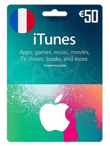آیتونز 50 یورو فرانسه (FR)
