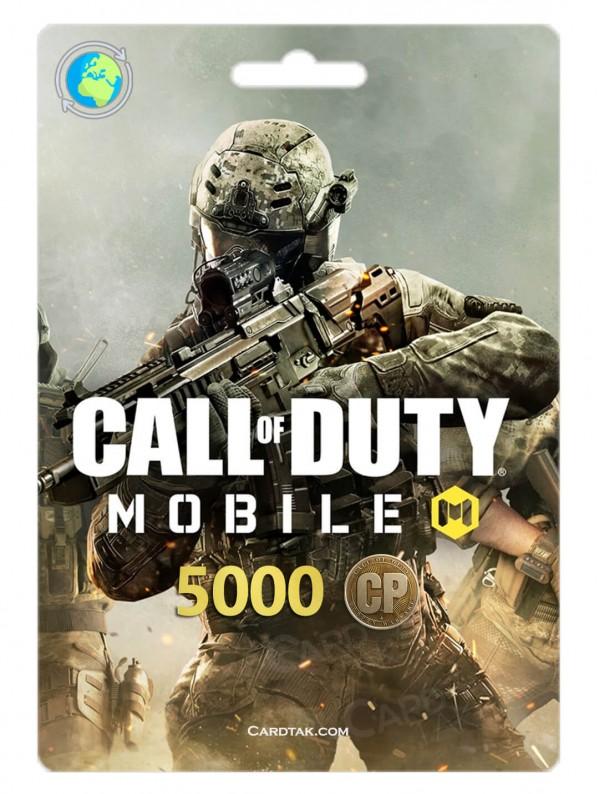 خرید 5000 سی پی کالاف دیوتی موبایل بهترین قیمت