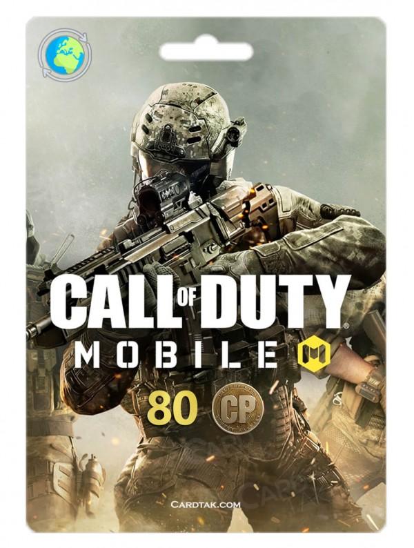 خرید 80 سی پی کالاف دیوتی موبایل بهترین قیمت