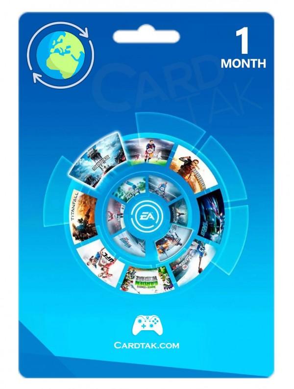 کارت ایکس باکس وان EA Access یک ماهه گلوبال (Global)