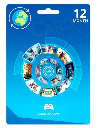 کارت ایکس باکس وان EA Access یکساله گلوبال (Global)
