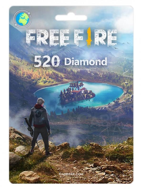 Free Fire 520 Gems