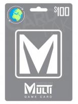 گیفت کارت مولتی گیم کارت 100 دلاری گلوبال (Global)