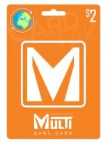 گیفت کارت مولتی گیم کارت 2 دلاری گلوبال (Global)