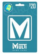 گیفت کارت مولتی گیم کارت 20 دلاری گلوبال (Global)
