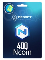 NCsoftNcoin 400 USD Global