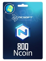 NCsoftNcoin 800 USD Global