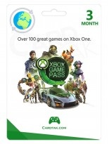 XBOX Game Pass 3 Months (Global/Renewal)