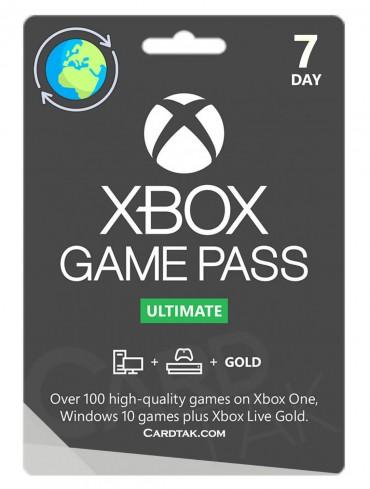 XBOX Game Pass Ultimate 7 Days + Visa Card (Global/Renewal)