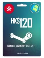 Steam 120 HKD Hong Kong