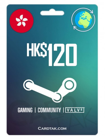 Steam 120 HKD Hong Kong