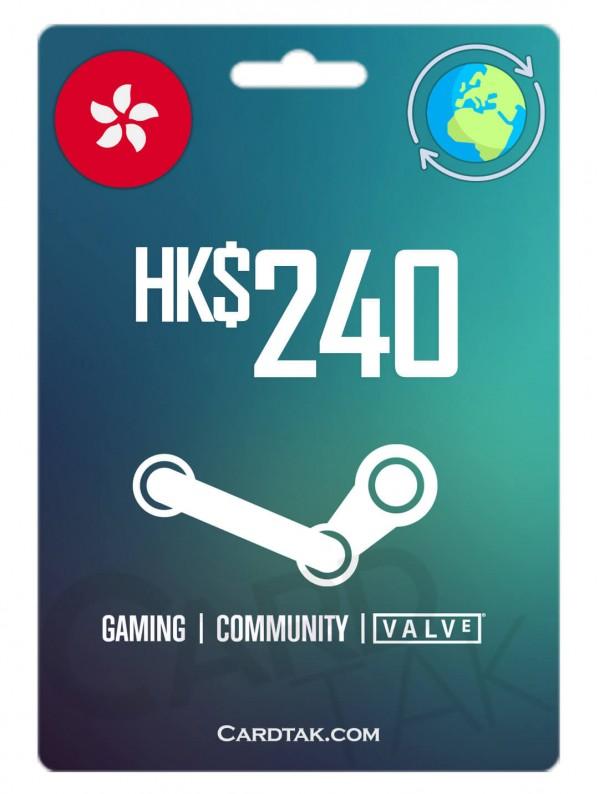 Steam 240 HKD Hong Kong