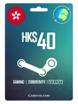 Steam 40 HKD Hong Kong