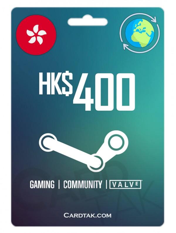 استیم 51.59 دلاری گلوبال (Steam 400 HKD)