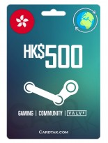 Steam 500 HKD Hong Kong