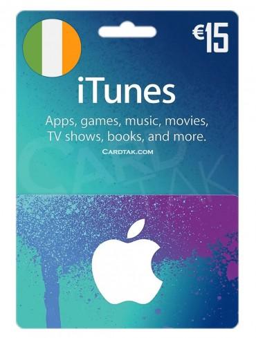 آیتونز 15 یورو ایرلند (IE)