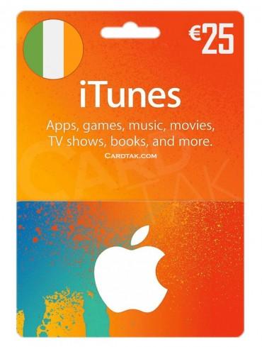 آیتونز 25 یورو ایرلند (IE)