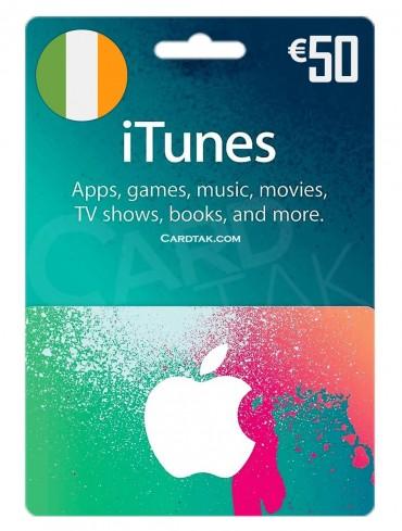 آیتونز 50 یورو ایرلند (IE)