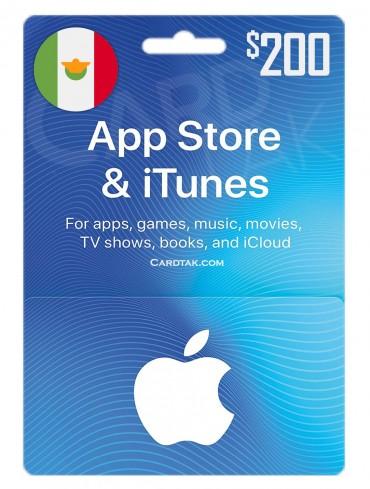 آیتونز 200 پزوی مکزیک (MX)