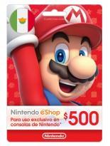 Nintendo 500 MXN Mexico