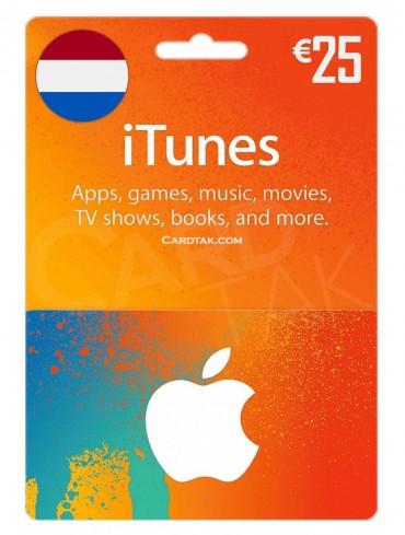 آیتونز 25 یورو هلند (NL)