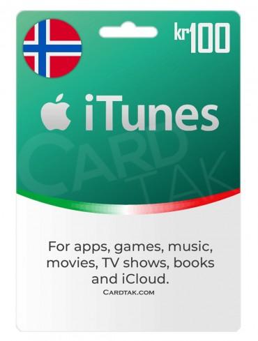 iTunes 100 NOK Norway