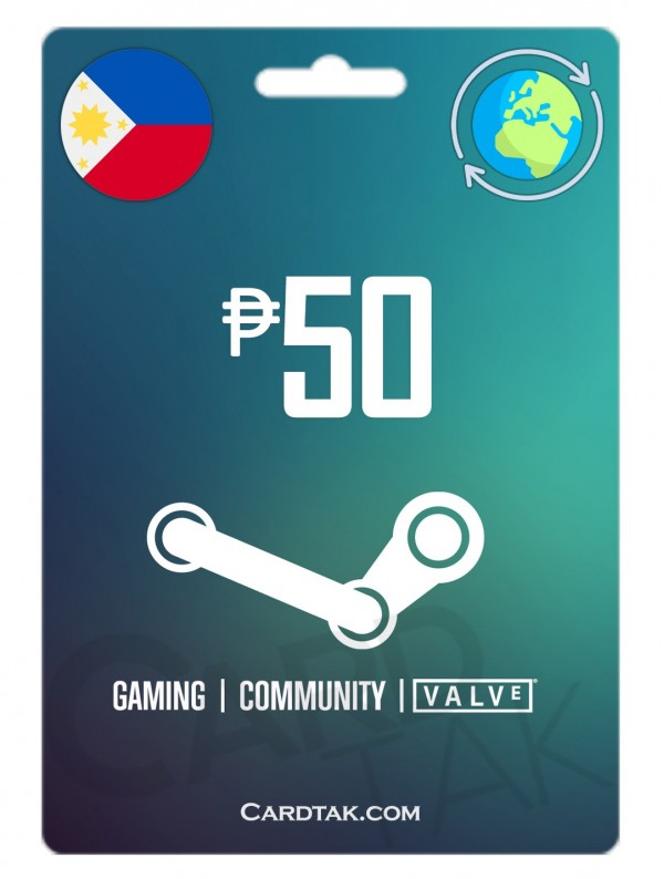 Steam 50 PHP Philippines