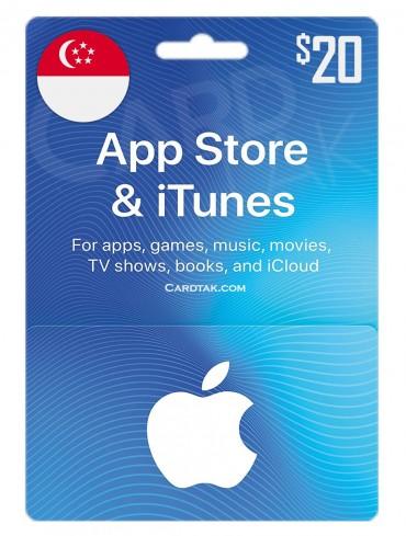 آیتونز 20 دلاری سنگاپور (SG)