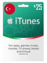 گیفت کارت اپل آیتونز 25 لیره ترکیه (TR)