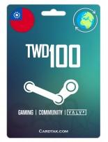 Steam 100 TWD Taiwan
