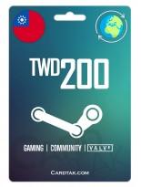 Steam 200 TWD Taiwan