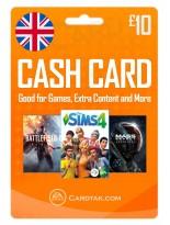 EA Origin Cash Card 10 GBP United Kingdom