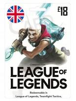 League of Legends 18 GBP (UK)